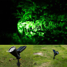 4 LED Solar Garden Lamp Spot Light Outdoor Lawn Landscape Spotlight Lighting New