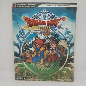 GUIDA STRATEGICA DRAGON QUEST JOURNEY OF THE COURSED PLAYSTATION 2 BRADYGAMES