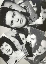 Black Dahlia Elizabeth Short Postcard Set All ten in the Reindeer Series