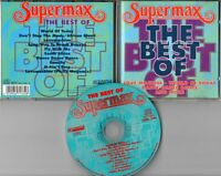 Supermax CD THE BEST OF © 1994 Castle CSC 7133-2 - 7-track Reggae Rock Electro