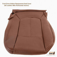 2011 TO 2014 Ford F250 King Ranch DRIVER Bottom Seat Cover PERFORATED LEATHER