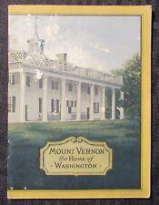 Vintage MOUNT VERNON John Hancock Life Insurance Co. VG- 3.5 Booklet