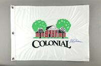 Colonial Golf Club Embroidered Flag Ft Worth PGA Signed by Golfer Ben Silverman