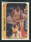 1986-87 Fleer Stickers MAGIC JOHNSON Card #7 Los Angeles Lakers