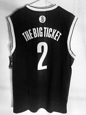 Adidas NBA Jersey Nets Kevin Garnett Black Nickname sz L
