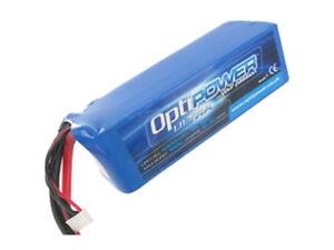 Optipower Ultra 50C Lipo Battery 4300mah, 5S, 10AWG
