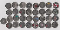 29x Canada Quarter 25 Cent Coin Poppy 50th Flag 150th - Stanley Cup 2017 - 1973