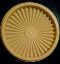 "Chose 1 Tupperware Servalier Replacement Lid 5"" Yellow  812-53 or 812-18"