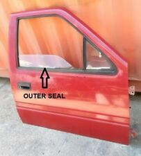 FITS ISUZU OPEL CAMPO 2WD 4WD UTE TRUCK 1988 96 DOOR BELT GLASS OUTER SEALS 2PCS