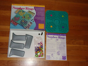 2002 Discovery Toys NUMBER RINGS Math Educational Family Childrens Game Ages 8 +