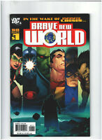 Brave New World #1 FN/VF 7.0 DC Comics 1st Ryan Choi Atom appearance