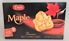Dare Cookies Maple Leaf Creme Cookies,  Case of 12 Boxes