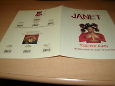 JANET JACKSON - TOGETHER AGAIN!!!!RARE FRENCH PRESS/KIT
