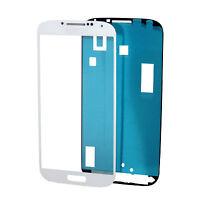Original Samsung Galaxy S4 I9505-9515 LCD Display Glas Scheibe Front Weiß+Kleber