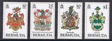 Bermuda 1983 Coat of Arms 1st series SG 457/60 MNH