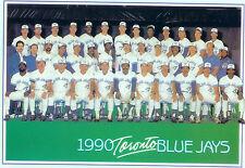1990 TORONTO BLUE JAYS 8X10 TEAM PHOTO  BASEBALL OLERUD MCGRIFF CANADA