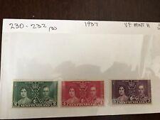 1937 Newfoundland stamps