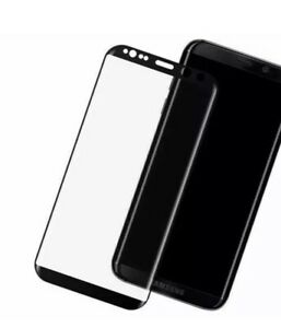 Full Curved 4D Tempered Glass Screen Protector For Samsung Galaxy S6 EDGE Black