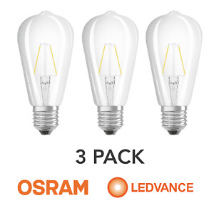 Osram 2.8w Led Bulb Retrofit Classic ST64 25w E27 250 lumen