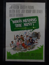 WHO'S MINDING THE MINT-1967-POSTER-JIM HUTTON-DOROTHY PROVINE-COMEDY-RO G/VG