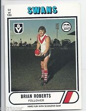 1976 Scanlens ## 54 Brian ROBERTS South Melbourne Very Good