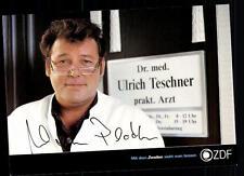 Walter Plathe ZDF Autogrammkarte Original Signiert # BC 45086