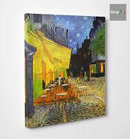 ☕️Quadro Van Gogh Terrazza del Caffè Place Forum Stampa su Tela effetto Dipinto