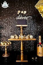 TRLYC 4Ft*7Ft Sparkly Black Party Photo Booth Backdrop Wedding Sequin Bac... New