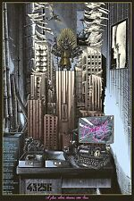Brazil Terry Gilliam Alternative Movie Poster by Ammo Ltd Ed #/50 NT Mondo Ansin