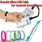 Micro USB Phone Cavo Di Ricarica Sync Dati Per Android da Bracciale Band Charger
