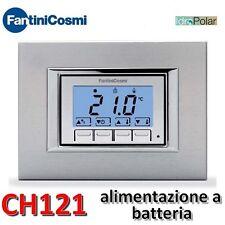 NUOVO TERMOSTATO AMBIENTE DA INCASSO FANTINI COSMI CH121 COVER INTERCAMBIABILI
