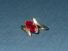 Vintage Ladies 14KT Yellow Gold Garnet Ring, Ring Size 9