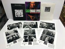 1998 Snake Eyes Movie Press Kit with Photo Set (1-6) & Handbook Nicolas Cage