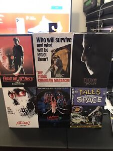 NECA Lot Of 6 Horror And BTTF New