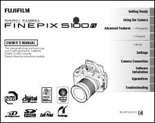 FujiFilm FinePix S100 Fs Digital Camera User Guide Instruction Manual