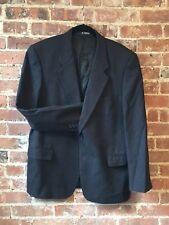 Cashmere Wool Blue Sport Coat (Size 41) -- Italian Tallia Galoppo Floriano