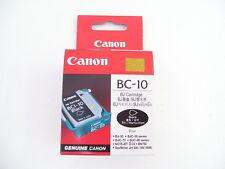 CANON BC-10 GENUINE BLACK PRINTHEAD + BCI-10 BLACK CARTRIDGE FOR BJ-30 BJC-50 BJ