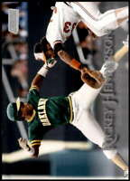 Rickey Henderson 2019 Topps Stadium Club 5x7 #132 /49 Athletics