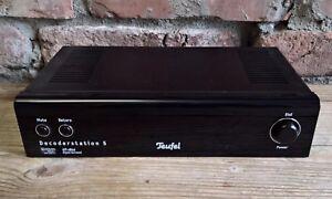 Teufel Decoderstation 5 Verstärker Vorverstärker Dolby Digital 5.1 DTS Decoder