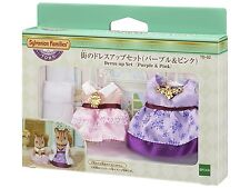 Sylvanian Families Dress Up Set Purple & Pink Td-02 Town Series Calico Critters