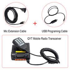 KT-8900R Auto Interphone Mobile Radio Transceiver + Mic Verlängerungskabel Draht