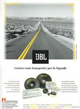 Publicité 1994  JBL  leader en matière de sonorisation