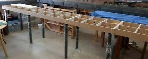 Model Railway Baseboard Module Kit (Open Top - 1200mm long)