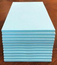"""Note / Scratch Pads-  4"""" X 6"""" -  ( BLUE )  12 Pads  - 50 Sheets Per Pad"""