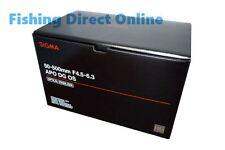 Sigma Telephoto Zoom Lens APO 50-500mm F4.5-6.3 DG OS HSM for Nikon Camera New!