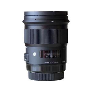 Sigma 50mm f/1.4 DG HSM Art Lens for Canon Cameras 311101