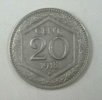 Italy Coin 20 Cent 1918