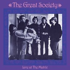 THE GREAT SOCIETY - LIVE AT THE MATRIX   CD NEUF