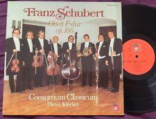 SCHUBERT - Octet in F Major Op. 166 CONSORTIUM CLASSICUM LP NM