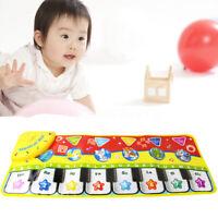 Baby Kids Musical Piano Music Toddler Carpet Play Mat Educational Electronic
